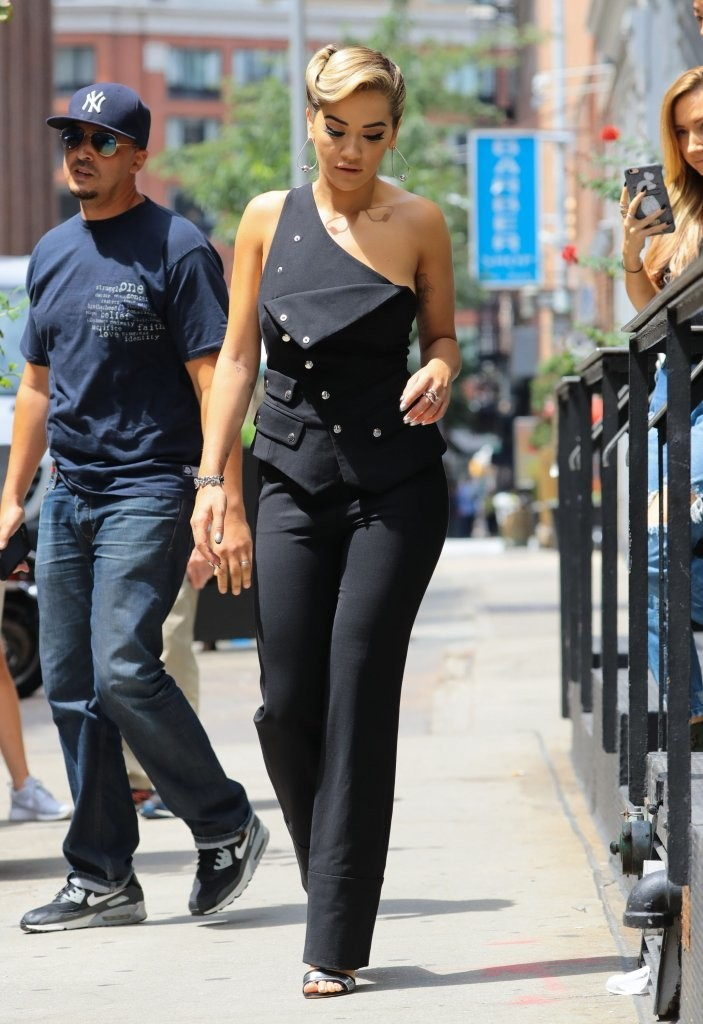 Rita Ora Leaves Her New York City Apartment 08/08/2016