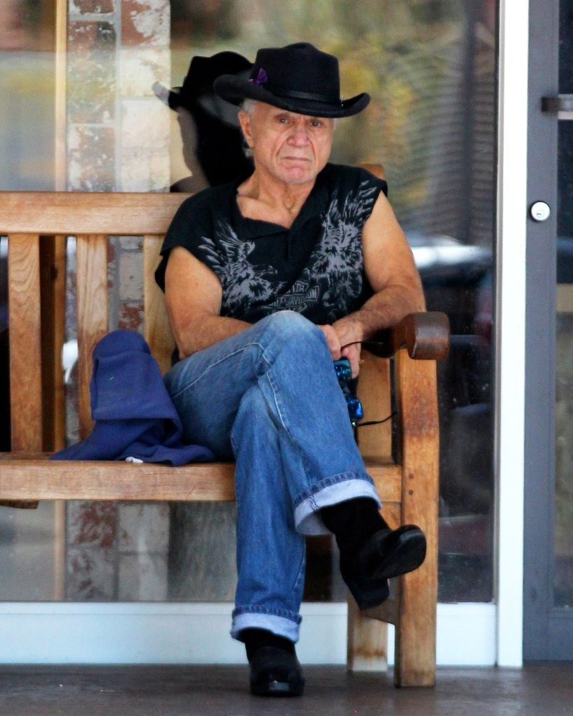 Robert Blake Heads out and About in Beverly Hills - Zimbio