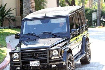 Robert Kardashian Jr. Rob Kardashian Out Driving in LA
