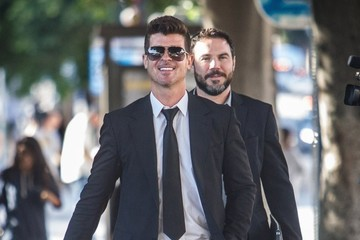 Robin Thicke Robin Thicke & Pharrell Williams At Their 'Blurred Lines' Trial