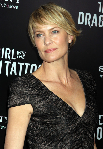 ... The Girl With The Dragon Tattoo' New York Premiere (Robin Wright Penn