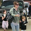 Rocky Prinze Sarah Michelle Gellar Leaves a Ballet Class With Her Children