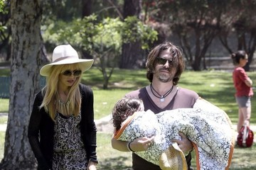 Rodger Berman Rachel Zoe and Husband Rodger Take Skyler to the Park