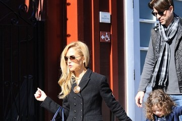Rodger Berman Rachel Zoe Shops With Family in LA