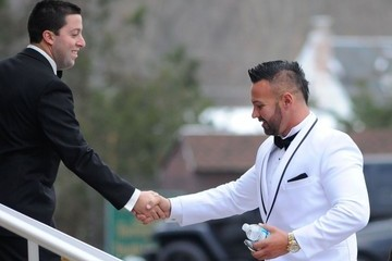 Roger Mathews Nicole 'Snooki' Polizzi & Jionni LaValle Marry In New Jersey
