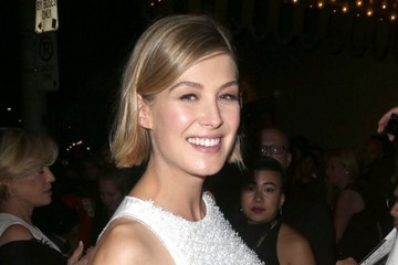 Rosamund Pike Celebs Spotted Out And About In Toronto