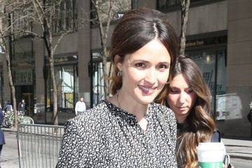 Rose Byrne Celebrities Appear on 'The Today Show'