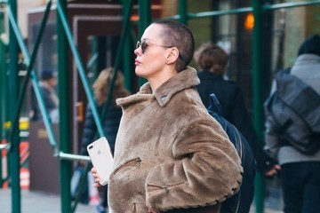 Rose McGowan Rose McGowan Leaves Her East Village Hotel