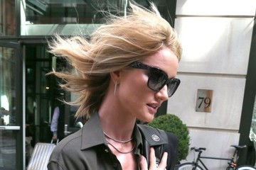Rosie Huntington-Whiteley Rosie Huntington-Whiteley Out in New York City