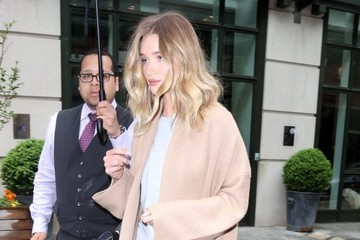 Rosie Huntington-Whiteley Rosie Huntington-Whiteley Goes Out in New York