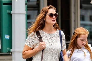 Rowan Henchy Brooke Shields and Her Daughter Out in NYC