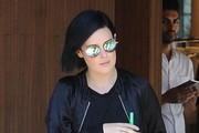 Rumer Willis Stops By A Hair Salon In West Hollywood