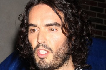 Russell Brand Russell Brand Heads to the 'Late Show with David Letterman'