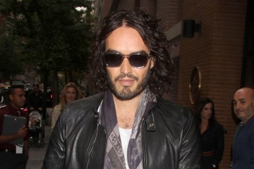 Russell Brand Russell Brand Visits 'The View'