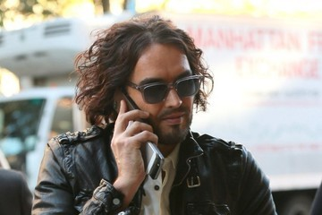 Russell Brand Russell Brand Steps Out in NYC