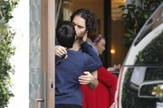 Russell Brand Lunches At Cecconi's