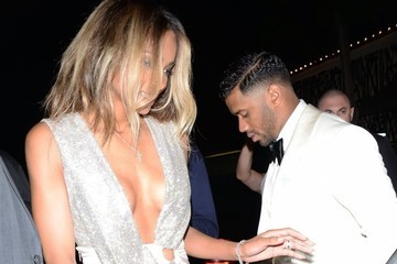 Russell Wilson Newlyweds Ciara & Russell Wilson Dine Out At Craigs