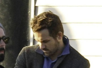 Ryan Reynolds Ryan Reynolds On Set Of 'Mississippi Grind'