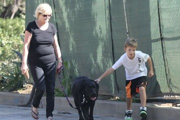 Ryder Robinson Ryder Robinson Taking His Dog For A Walk