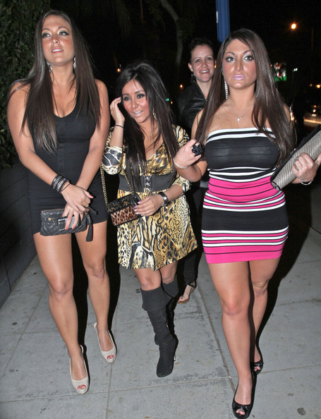 jersey shore girls snooki. The #39;Jersey Shore#39; Girls