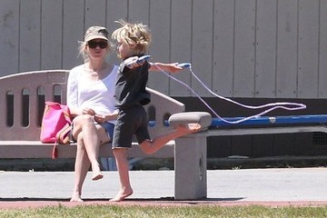 Samuel Schreiber Naomi Watts and Liev Schreiber Enjoy a Day at the Park