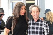 Sanaa Lathan Has Lunch With Brian Grazer In Beverly Hills