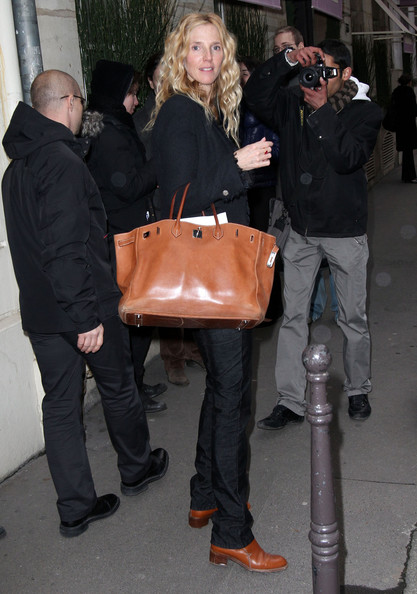 Sandrine Kiberlain - Celebrities Attending The Chanel Fashion Show During Paris Fashion Week