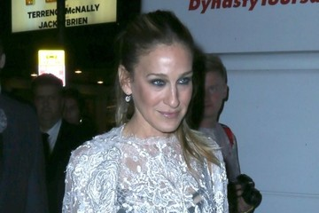 Sarah Jessica Parker Sarah Jessica Parker & Matthew Broderick Leaving The Opening Night Of 'It's Only A Play'