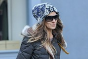 Sarah Jessica Parker Out Shopping In New York City