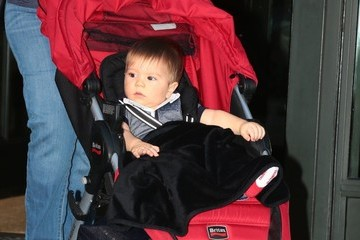Sasha Pique Shakira Out and About in NYC With Her Son