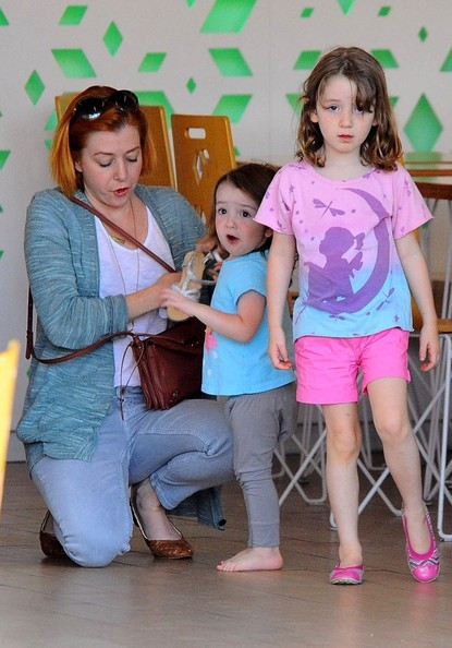 Satyana Denisof Pictures - Alyson Hannigan & Family Have ...