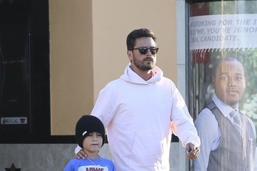 Scott Disick Scott Disick Takes His Son to the Movies in LA