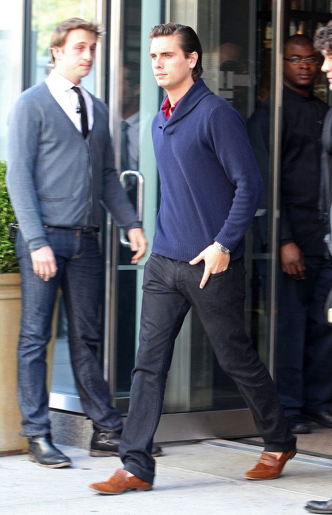 Scott Disick in Scott Disick Leaving Smyth Hotel In New ...