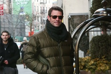Scott Foley Scott Foley and Marika Dominczyk Spotted in NYC