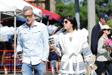 Selma Blair Selma Blair At The Farmer's Market