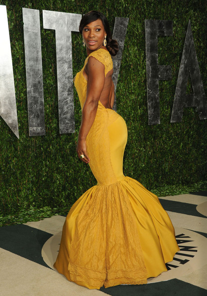 Serena Williams - The 2012 Vanity Fair Oscar Party