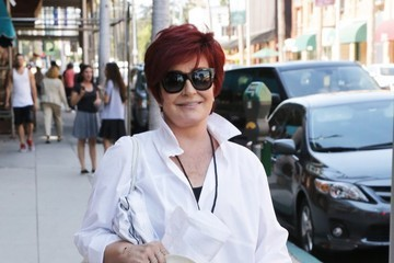 Sharon Osbourne Sharon Osbourne Leaving A Medical Building