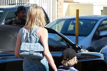 Sharon Stone Laird Stone Sharon Stone And Her Son Out In Beverly Hills