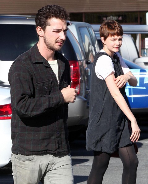 Shia LaBeouf Actor Shia LaBeouf and his girlfriend seen leaving the El ...