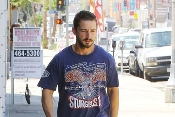 Shia LaBeouf Shia LaBeouf Heads to the Gym