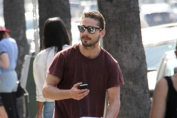 Shia LaBeouf Shia LaBeouf Hands Out Copies Of His Book 'Stale N Mate'