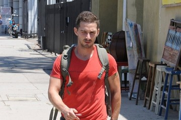 Shia LaBeouf Shia LaBeouf Hits the Gym