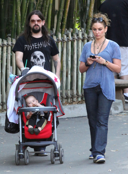 Drea de Matteo And Family At The Los Angeles Zoo