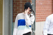 Kendall Jenner Keeps Her Head Down in NYC
