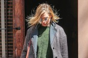 Sienna Miller Leaving Her Apartment in NYC