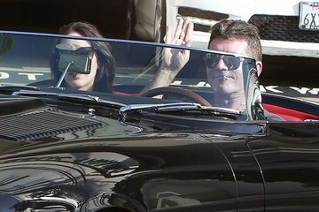 Simon Cowell Simon Cowell & Lauren Silverman Stop For A Drink In Beverly Hills