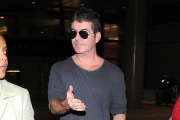 Simon Cowell Simon Cowell Arrives at LAX