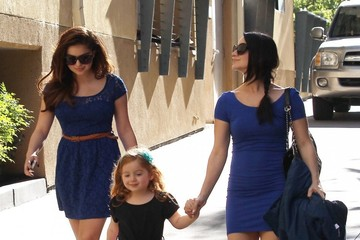 Skyler Gray Ariel Winter Takes Her Niece To A Birthday Party