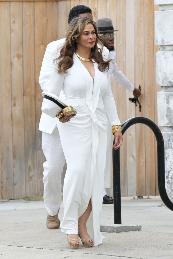 Tina knowles pictures solange knowles marries alan ferguson in new