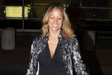 Stacey Dash Stacey Dash Spotted at the Airport
